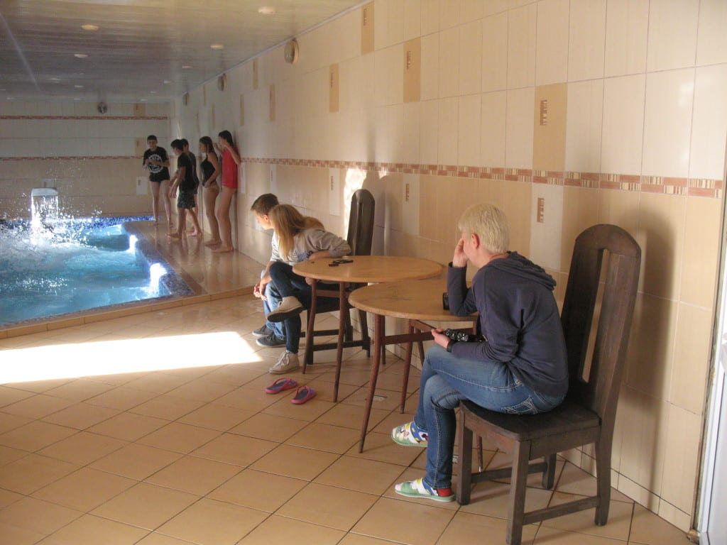 Детский отдых в Карпатах с бассейном