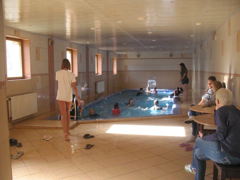 Отдых в Закарпатье с бассейном Эдельвейс Соль