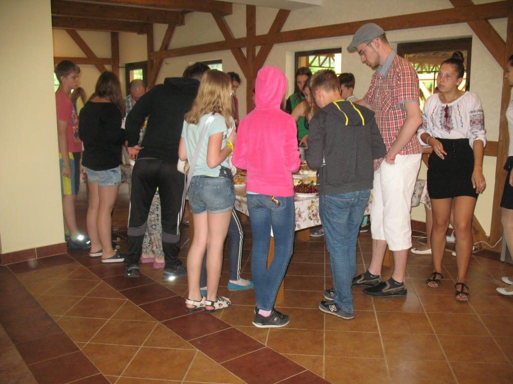 Ангоязычный лагерь в Карпатах