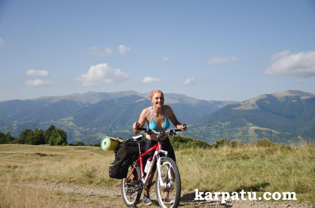 Велосипедные экскурсии летом по горам Эдельвейс Соль Закарпатье