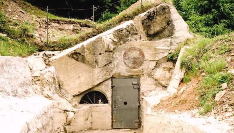Интересные места Закарпатья, бункер