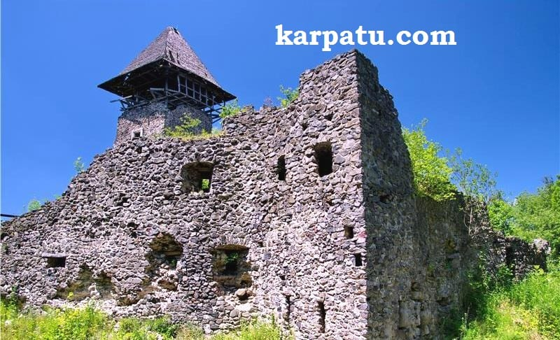 Поездка летом в Карпаты