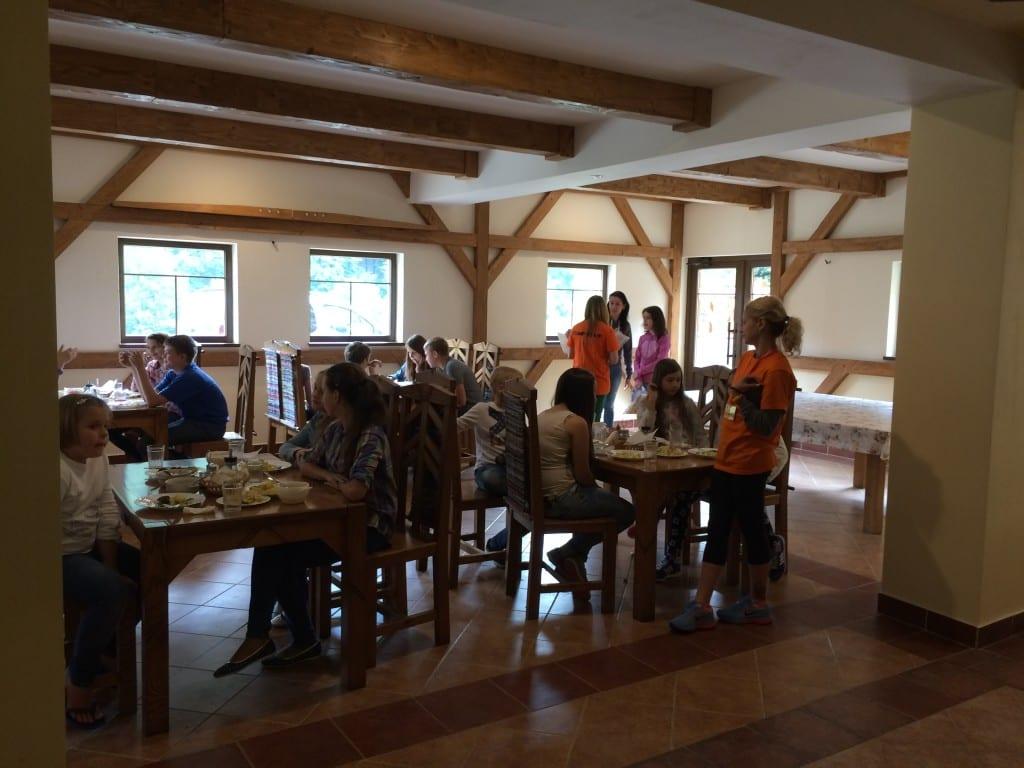 летние языковые лагеря питание