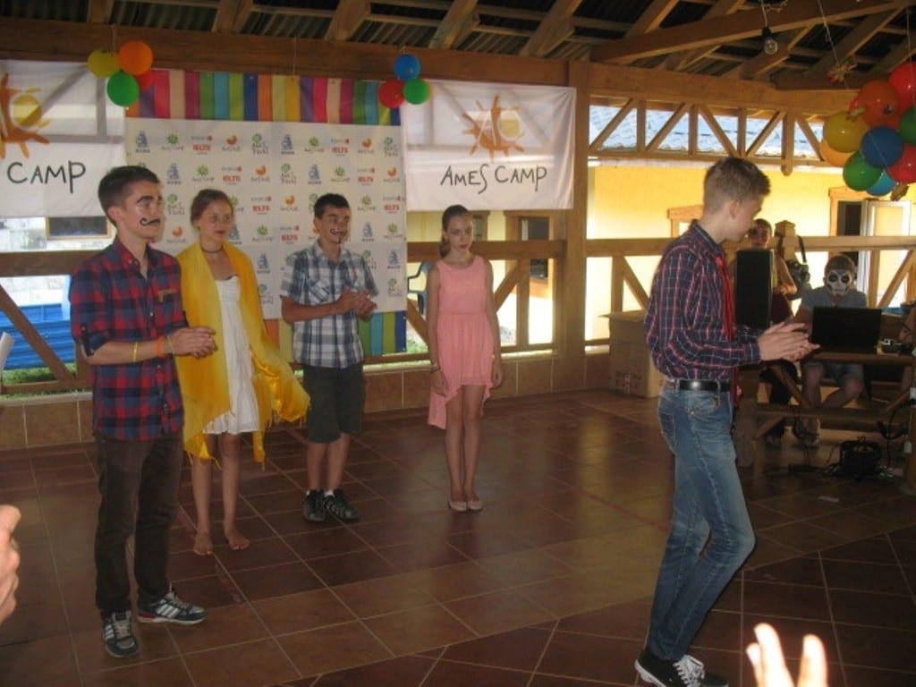 Летний англоязычный лагерь в Украине