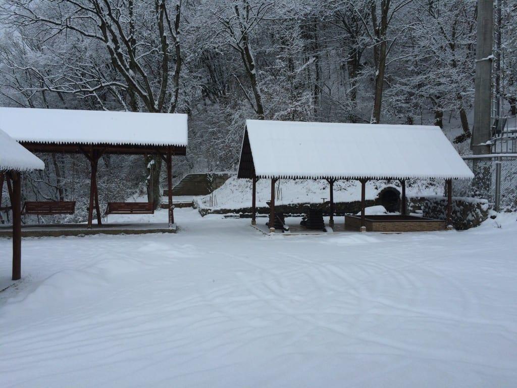 Зима в Закарпатье