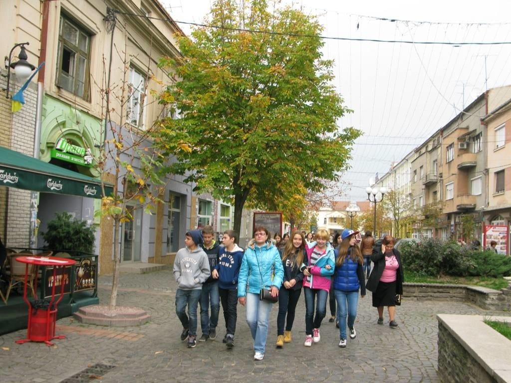 Детский отдых в Закарпатье весной 2016