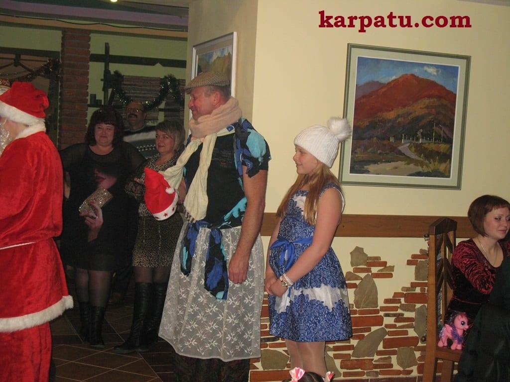 Новый год в Закарпатье