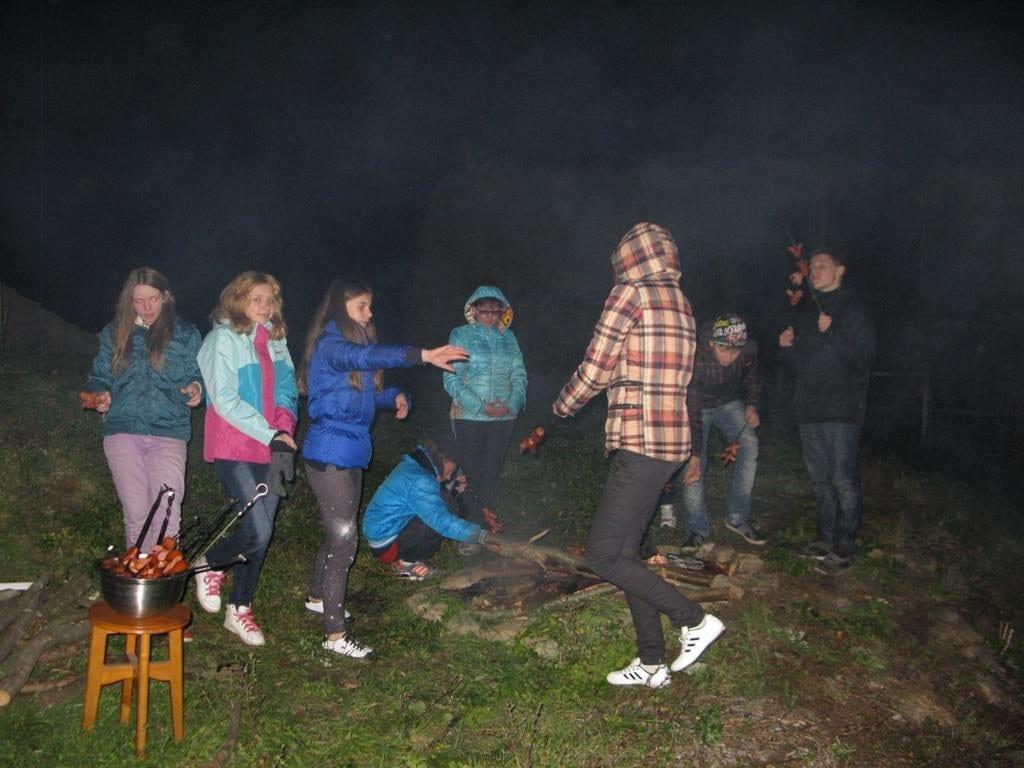 Осень в Закарпатье с детьми