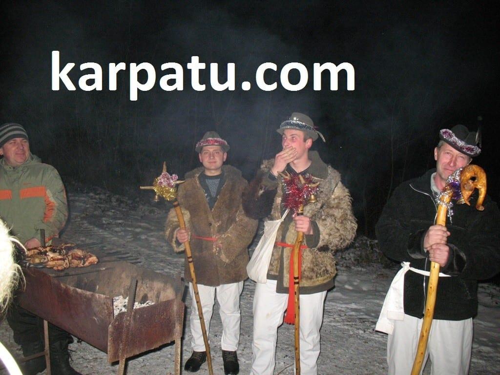 Рождество в Закарпатье