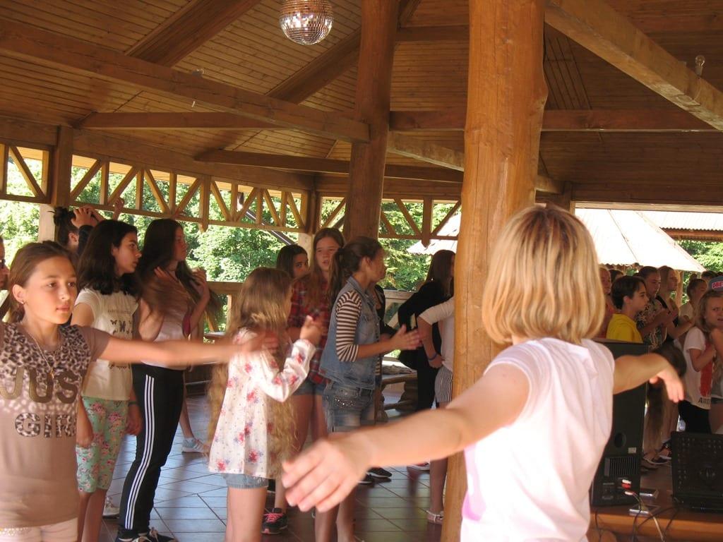Осенний языковый лагерь в Украине