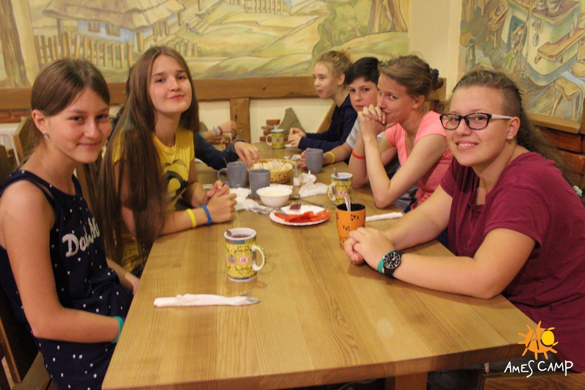 Детский отдых в Карпатах лето