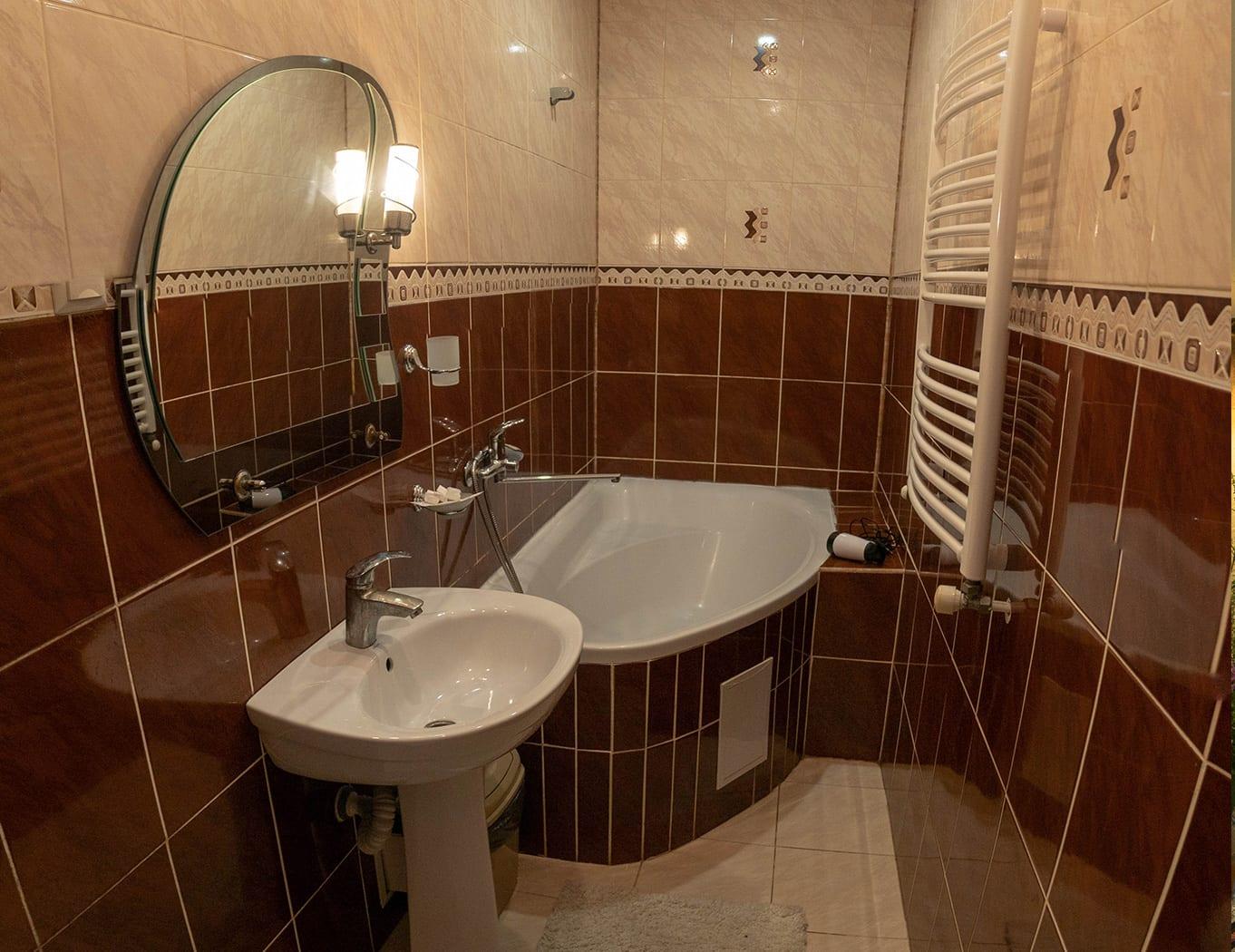 ЛЮКС, ванная комната
