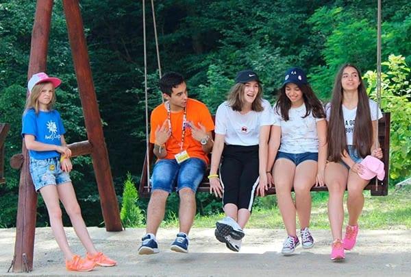 Летний англоязычный детский лагерь в Карпатах